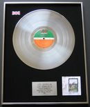 LED ZEPPELIN - LED ZEPPELIN IV (THE FOUR SYMBOLS) PLATINUM LP presentation Disc
